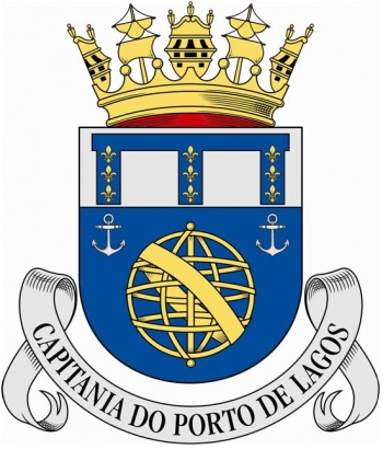Coat of arms (crest) of the Harbour Captain of Lagos, Portuguese Navy