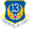 13th Air Force, US Air Force.png