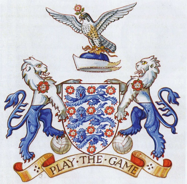 Football Association - Coat of arms (crest) of Football
