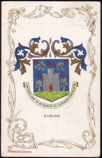 Arms of Stirling (Scotland)
