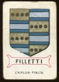 arms of the Filletti family