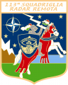 113th Remote Radar Squadron, Italian Air Force.png
