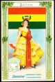 Arms, Flags and Folk Costume trade card Diamantine Bolivia