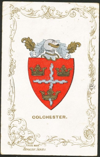 Arms (crest) of Colchester