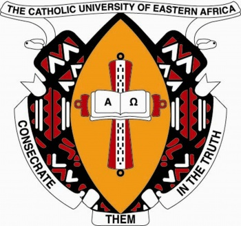 Arms (crest) of Catholic University of Eastern Africa