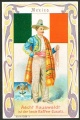 Arms, Flags and Folk Costume trade card Mexiko