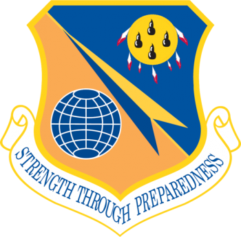 Coat of arms (crest) of the 138th Fighter Wing, Oklahoma Air National Guard