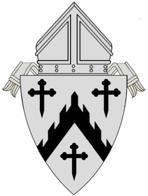 Arms (crest) of Diocese of Davenport