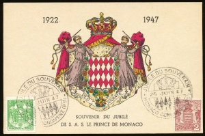 Arms of Monaco (stamps)