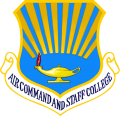 Air Command And Staff College, US Air Force.png