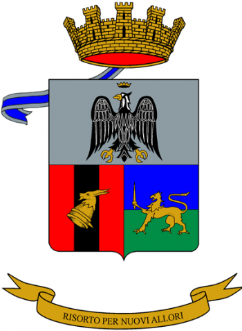 Coat of arms (crest) of the 48th Artillery Regiment, Italian Army
