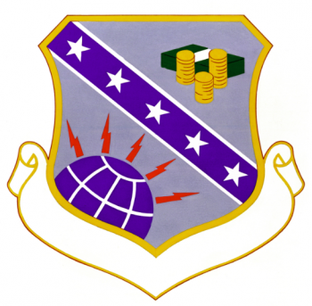 Coat of arms (crest) of the 3750th Technical Training Group, US Air Force
