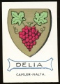 arms of the Delia family