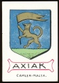 arms of the Axiak family