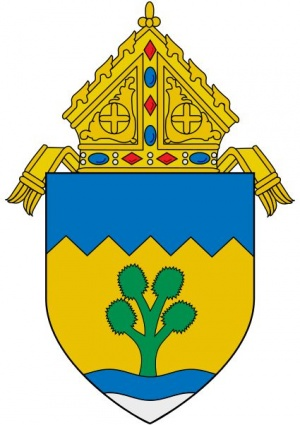 Arms (crest) of Diocese of Las Vegas