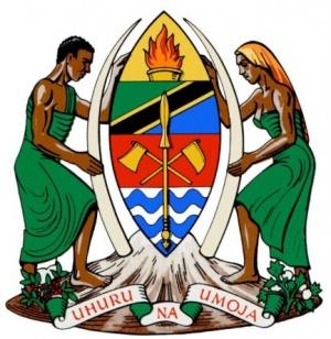 tanzania arms crest of tanzania