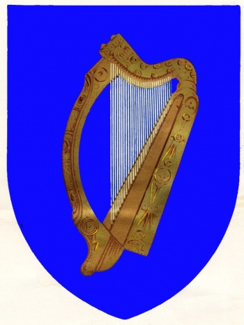 The National Arms Of Ireland Coat Of Arms Crest Of The National