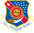 114th Fighter Wing, South Dakota Air National Guard.png