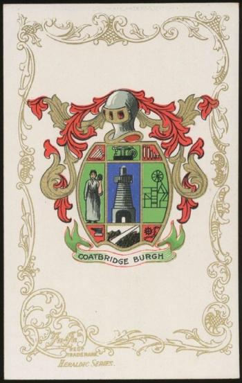 Who Takes Paypal >> Coatbridge - Coat of arms (crest) of Coatbridge
