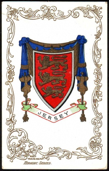 center Coat of arms/crest of Jersey