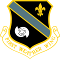 1st Weather Wing, US Air Force.png