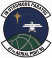 27th Aerial Port Squadron, US Air Force.png