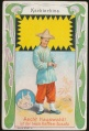 Arms, Flags and Folk Costume trade card Kochinchina