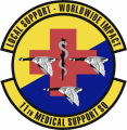 11th Medical Support Squadron, US Air Force.png
