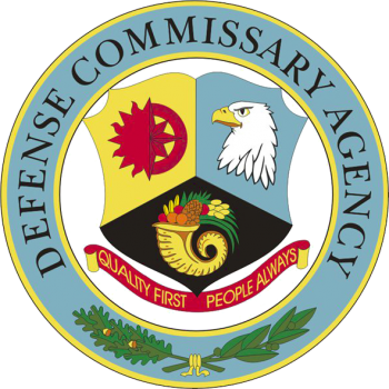 Coat of arms (crest) of the Defense Commissary Agency, US