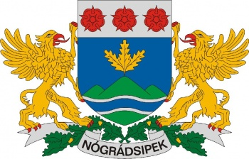 Arms (crest) of Nógrádsipek