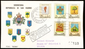Arms of San Marino (stamps)