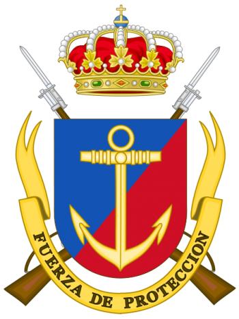 Coat of arms (crest) of the Navy Protection Forces, Spanish Navy