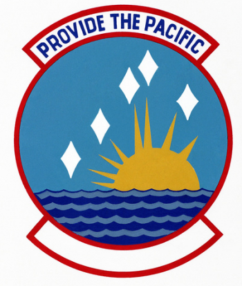 Coat of arms (crest) of the Pacific Air Forces Logistics Support Center, US Air Force