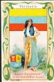 Arms, Flags and Folk Costume trade card Venezuela