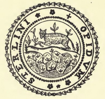 seal of Stirling (Scotland)