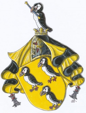 Arms of Ralf Hartemink