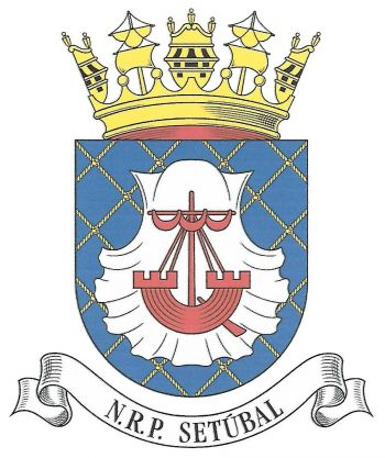 Coat of arms (crest) of the Ocean Patrol Vessel NRP Setubal, Portuguese Navy