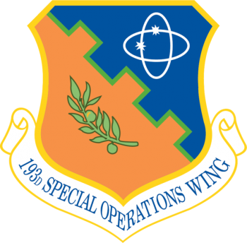 Coat of arms (crest) of the 193rd Special Operations Wing, Pennsylvania Air National Guard