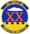 20th Airlift Squadron, US Air Force.png