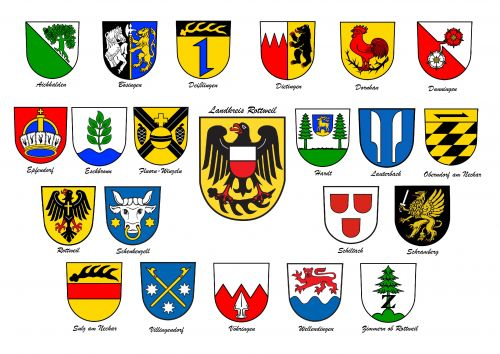 Arms in the Rottweil District