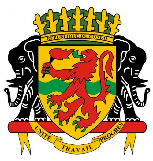 National Arms Of Congo (Brazzaville)