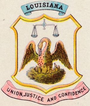 Arms of Louisiana
