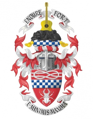 Arms of Paul Benjamin Lindsay