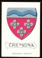 arms of the Cremona family