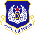9th Air Force, US Air Force.png