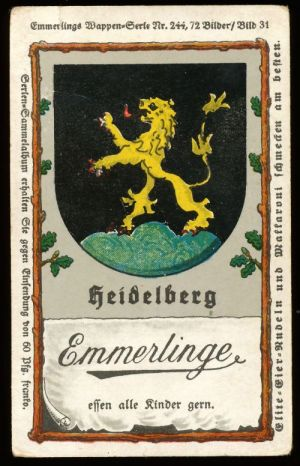 Arms (crest) of Heidelberg
