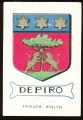 arms of the Depiro family