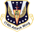 174th Attack Wing, New York Air National Guard.png
