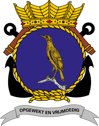 Coat of arms (crest) of the Naval Base Parera, Curaçao, Netherlands Navy