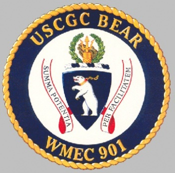 USCGC Bear (WMEC-901) - Coat of arms (crest) of USCGC Bear